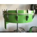 Tambor 381 un solo parche color verde