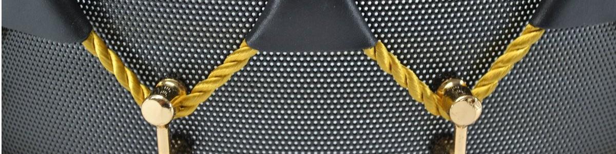 Tambor microperforado de cuerdas